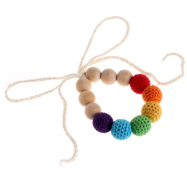 Image of Wood & Crochet necklaces