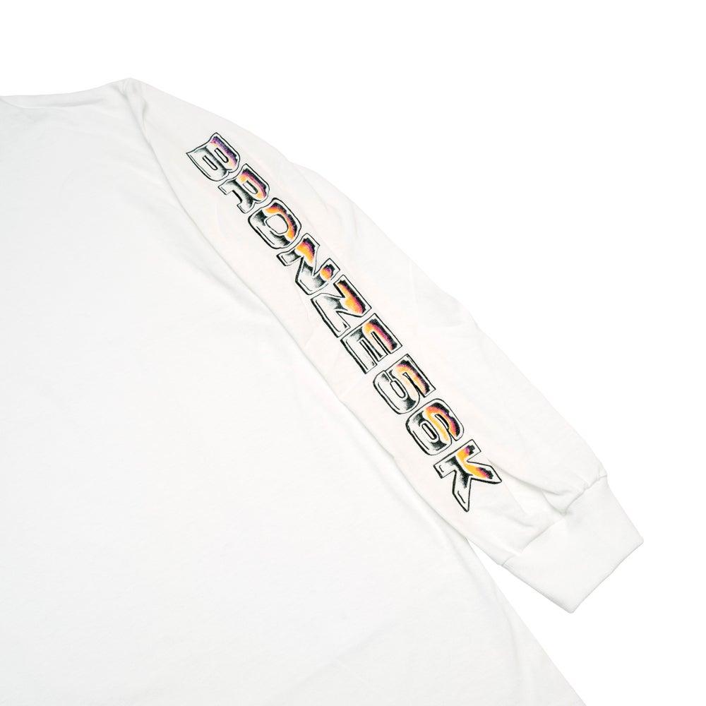Image of Shoulder Lean Longsleeve White