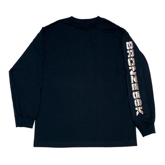 Image of Shoulder Lean Longsleeve Navy