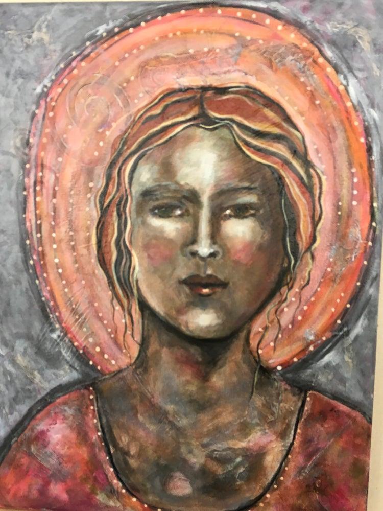 "Image of ""I am Listening"" original painting"