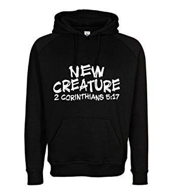 Image of New Creature Black Hoodie