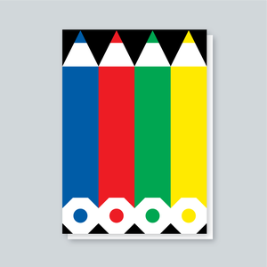 Image of Pencils card
