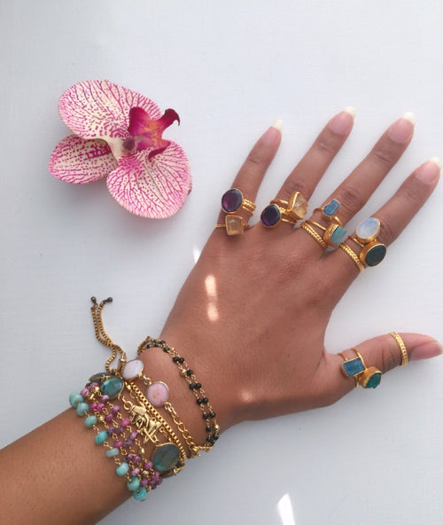 Image of KAOLI Crystal Ring Sets