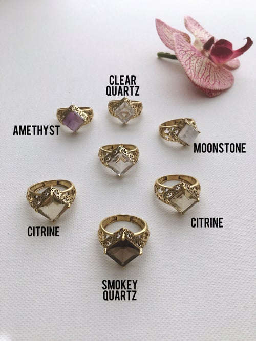 Image of ROILE Crystal Rings