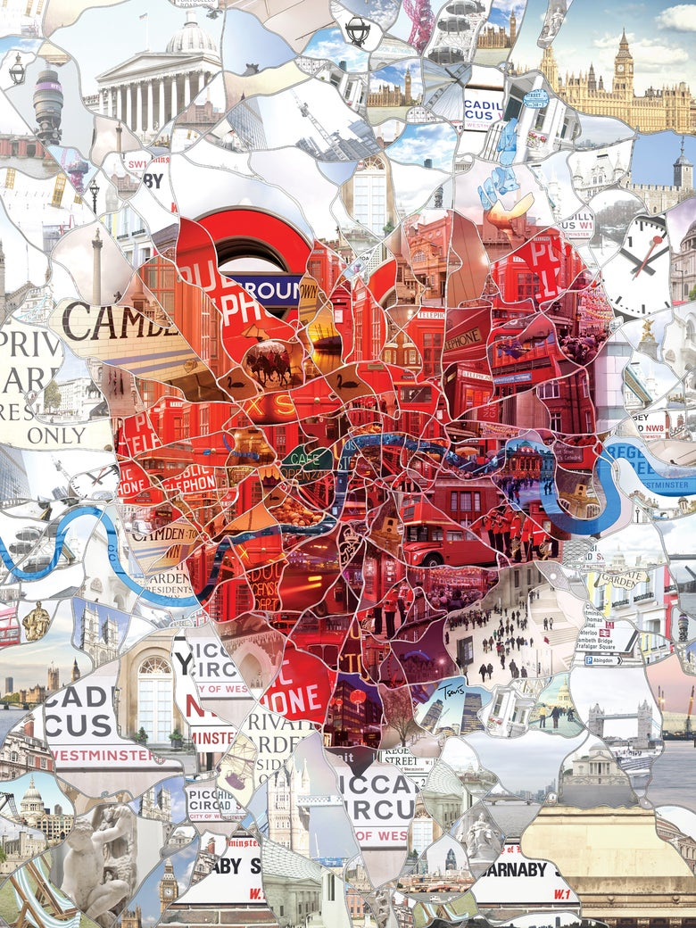 Image of London: The Capital of Romance  (Limited edition fine art prints)