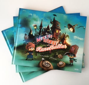 "Childrens book - ""Monster, spöken och kanelbullar"" by Alexander Jansson - Alexander Jansson Shop"