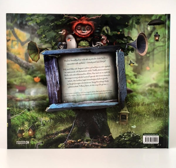 "Childrens book - ""Monster, spöken och kanelbullar"" by Alexander Jansson - Alexander Jansson Shop"