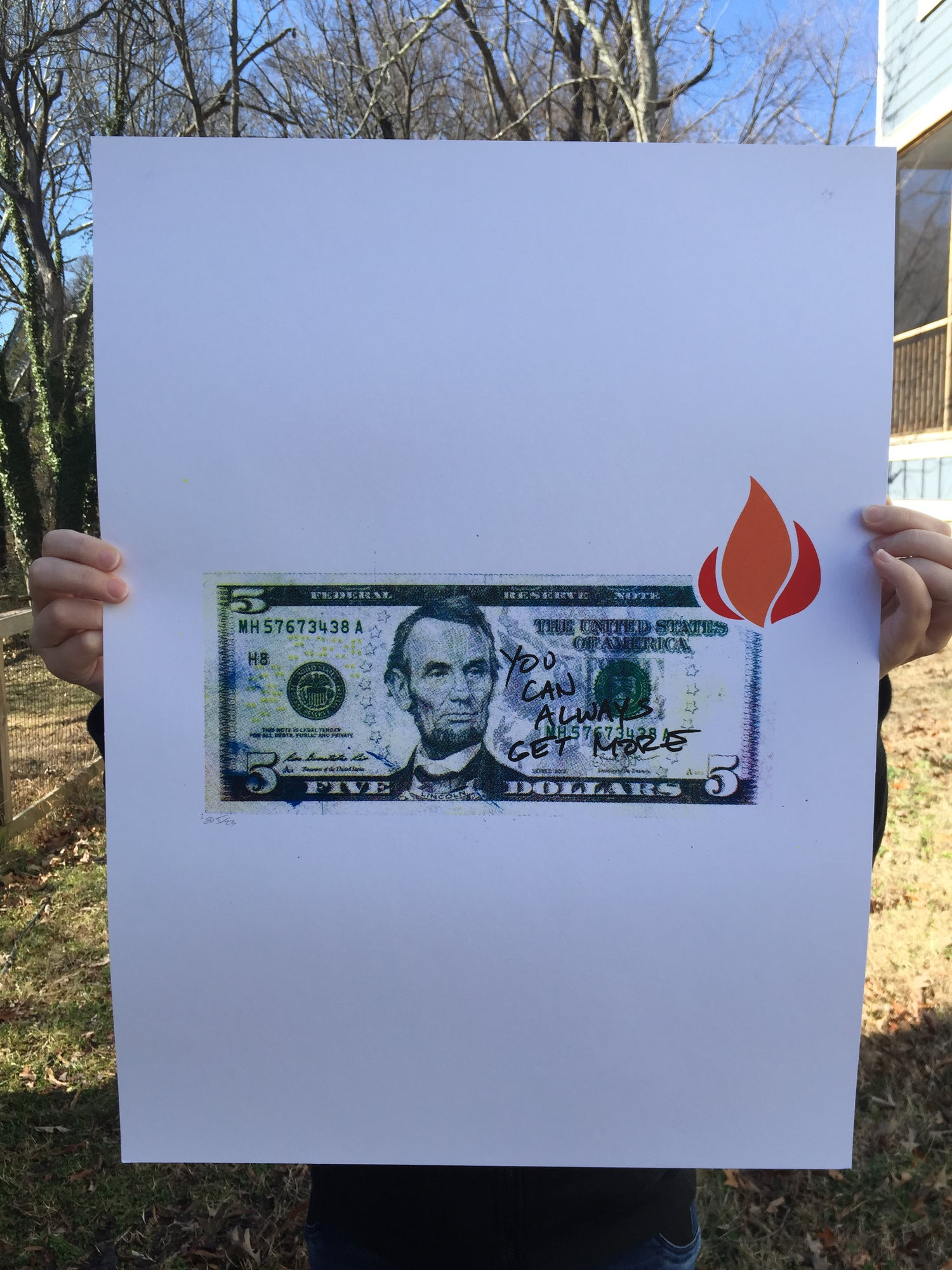 Image of Money to Burn (Or Singe, Anyway)