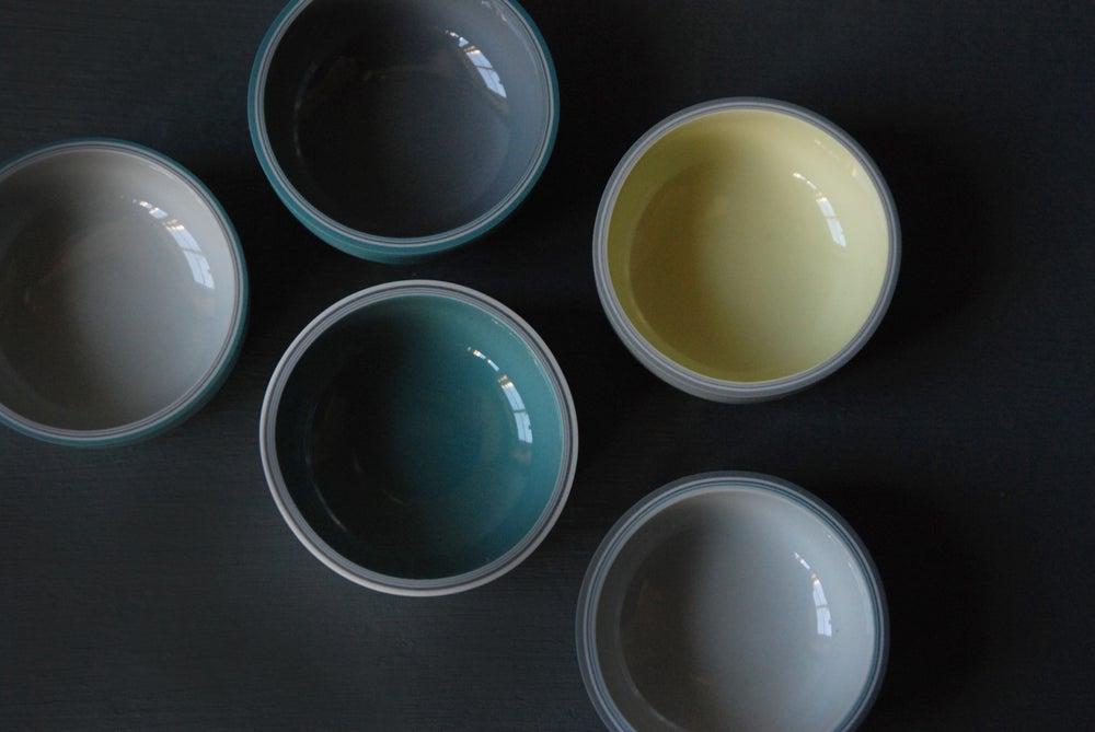 Image of Tiny Shallow Glazed Vessel