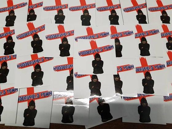 Image of Huddersfield Town 25 Ultras/Casuals/Hooligans sticker pack.