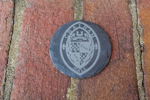 Image of Slate Coasters with the Chatham Hall Seal