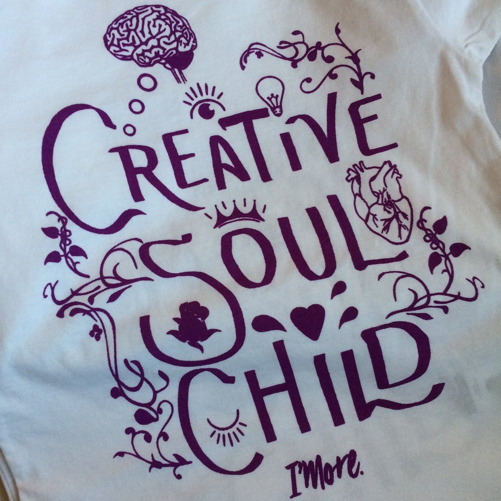 Image of 'CREATIVE SOUL CHILD' T