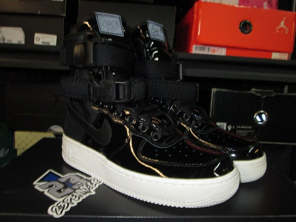 "Air Force 1 High SF SE Premium ""Black Patent"" WMNS - areaGS - KIDS SIZE ONLY"