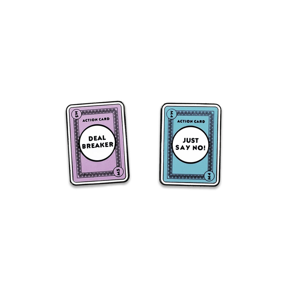 Image of *PRE-ORDER* Dealer Cards Pins
