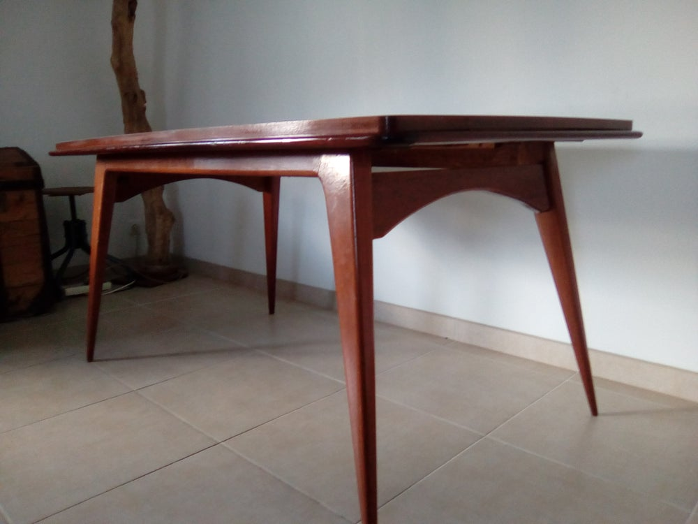Image of Table pieds compas 60'