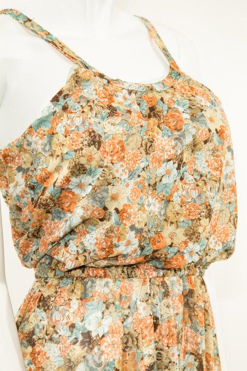 Image of Floral Sheer Dress