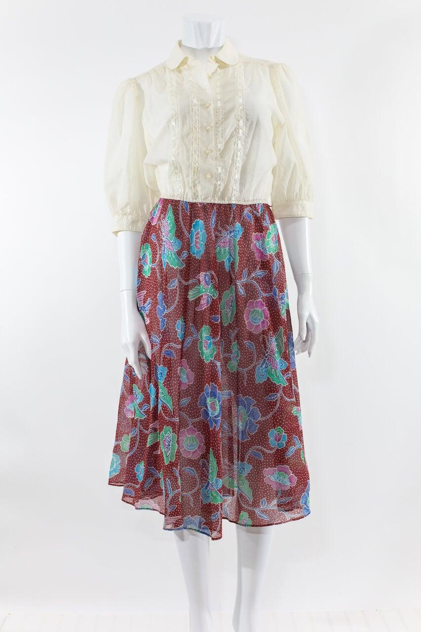 Image of Leslie Faye Sheer Dress