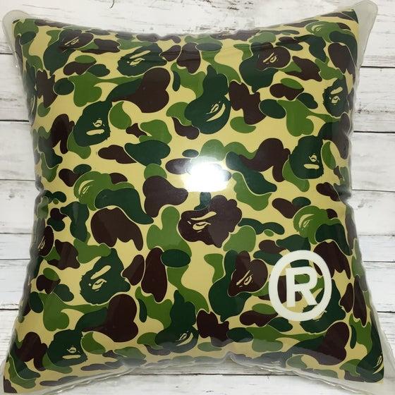 Image of Bape Abc Camo Clear Cushion