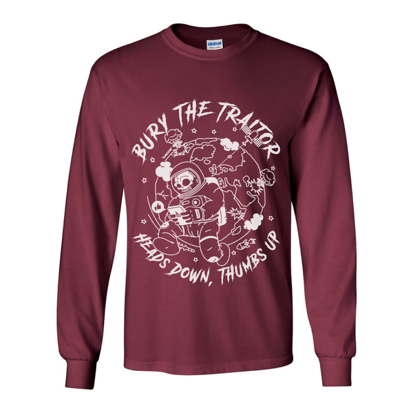 Image of Heads down, Thumbs up - Long sleeved tee