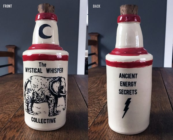 Image of Ceramic Bottle 12 - Mystical Whisper