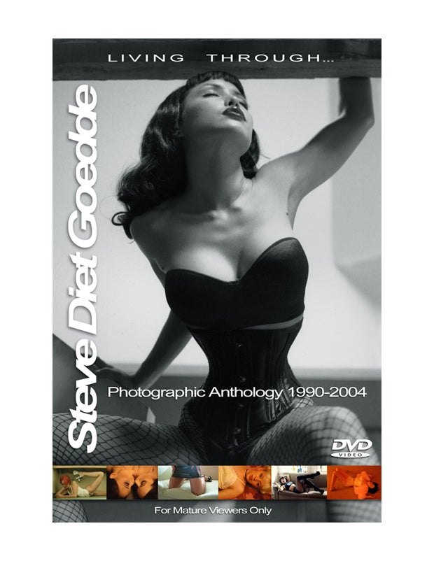 """Image of DVD """"Living Through Steve Diet Goedde"""""""