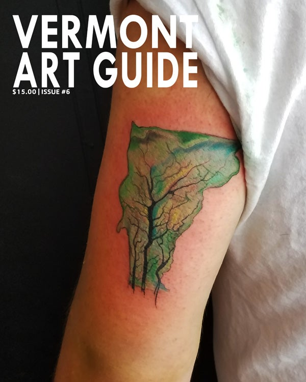 Image of CURRENT ISSUE: Vermont Art Guide #6