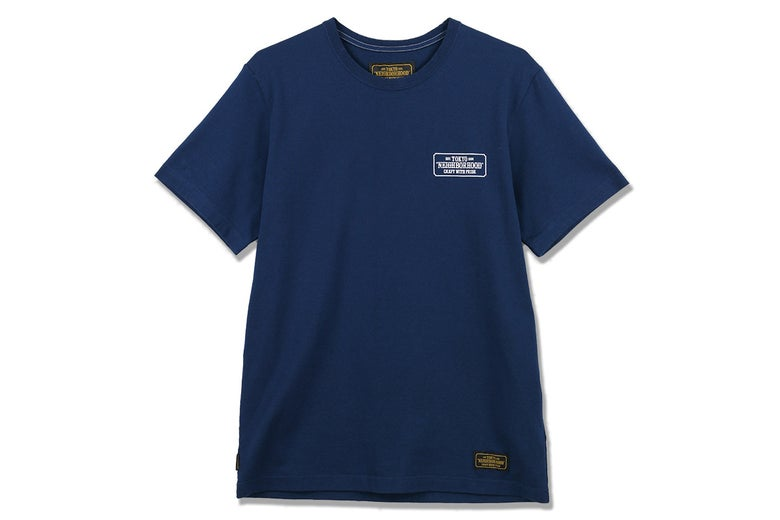 Image of Neighborhood - Classic C-Crew Tee (Navy)