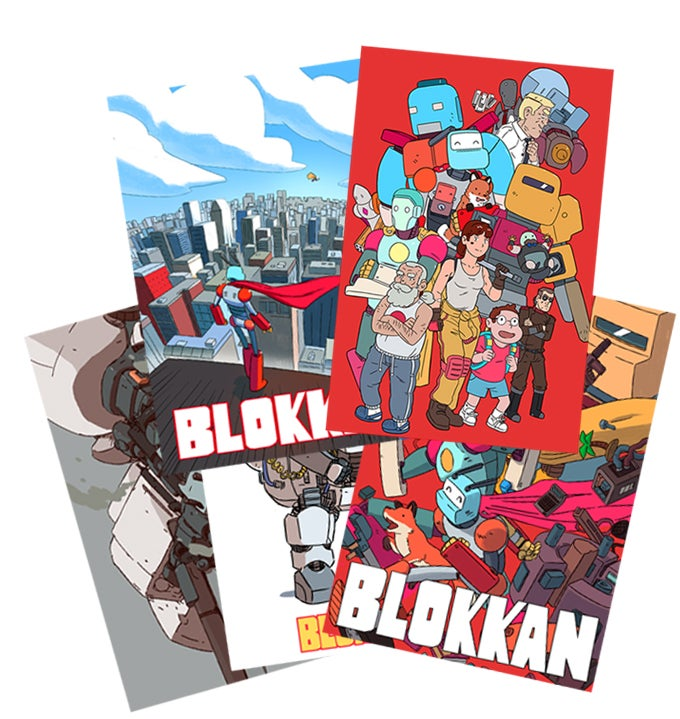Image of Blokkan Post Cards