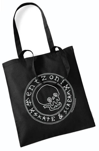 Image of Mentzoni Skull Tote Bag