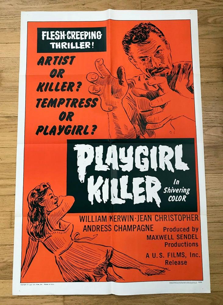 Image of 1967 PLAYGIRL KILLER Original U.S. One Sheet Movie Poster