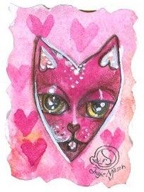 Image of Lil Bit 'O Love Series- Heart 13