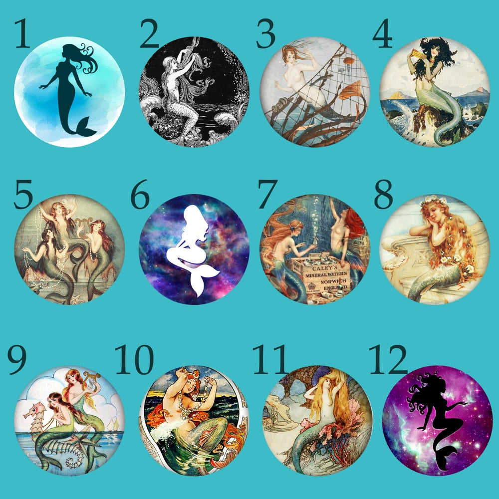 "Image of Mermaid Plugs (sizes 2g-2"")"