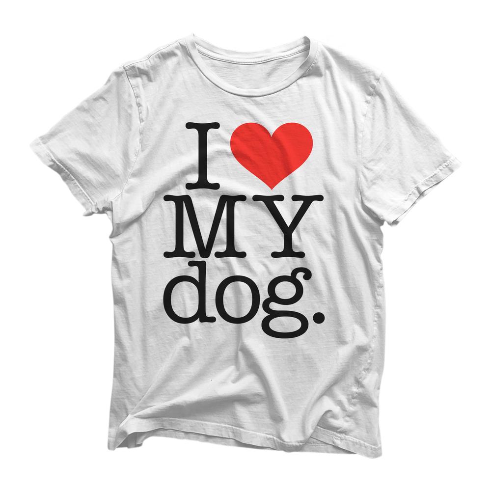 Image of I LOVE MY DOG