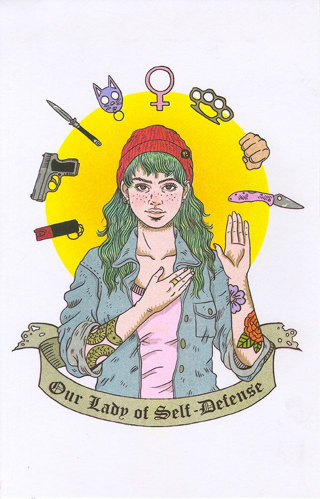 """Image of """"Our Lady of Self-Defense"""""""