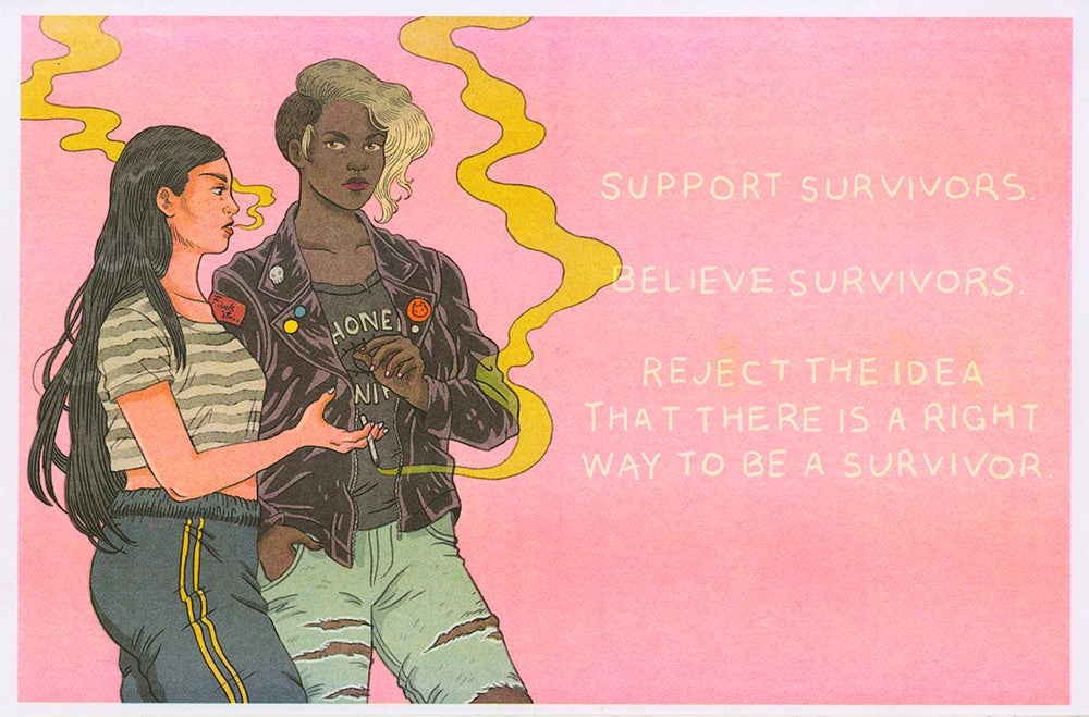 """Image of """"Support Survivors"""""""