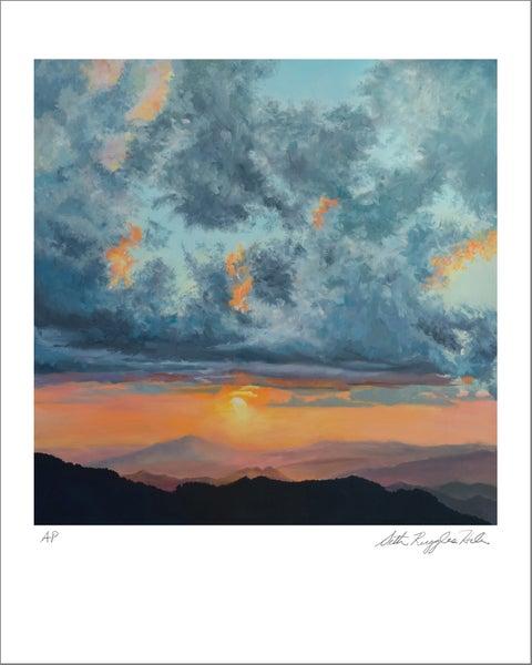 "Image of ""North Carolina Sunset"" print"