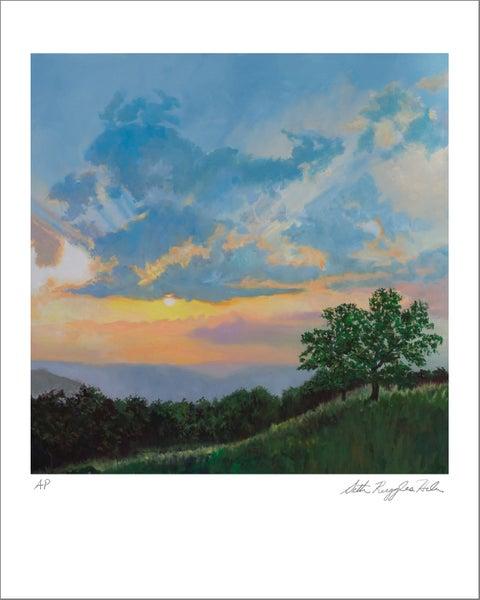 """Image of """"Sunset on the Shenandoah"""" Print"""