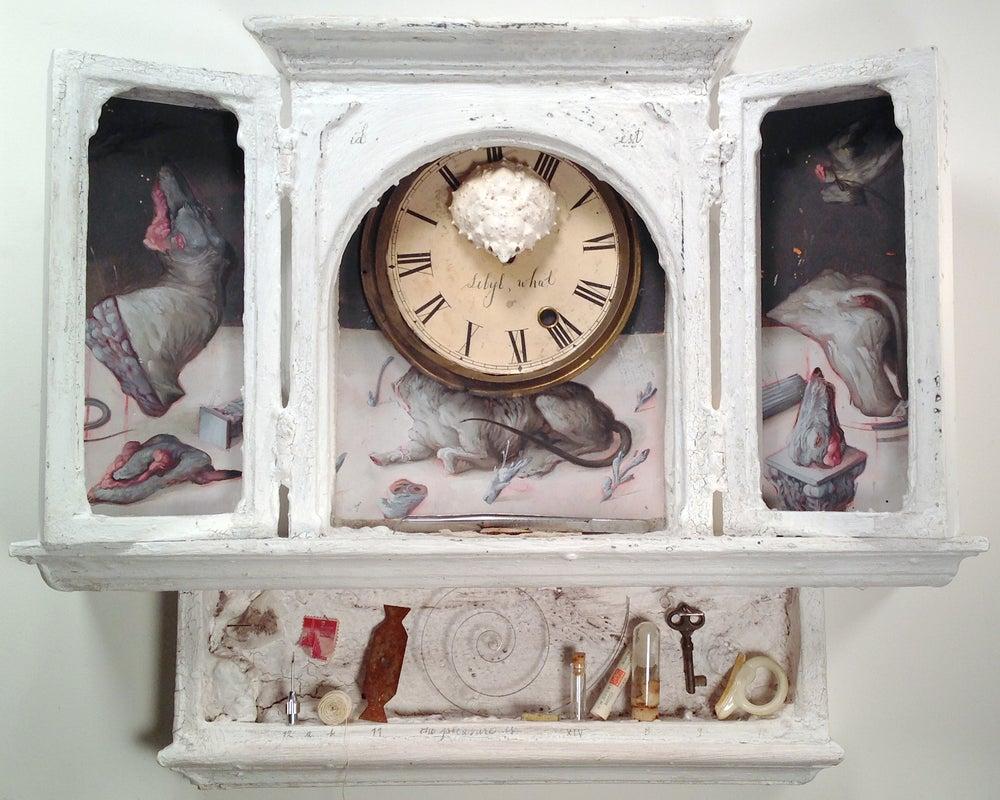 "Image of Altar Piece ll- ""Gather Ye Rosebuds"""