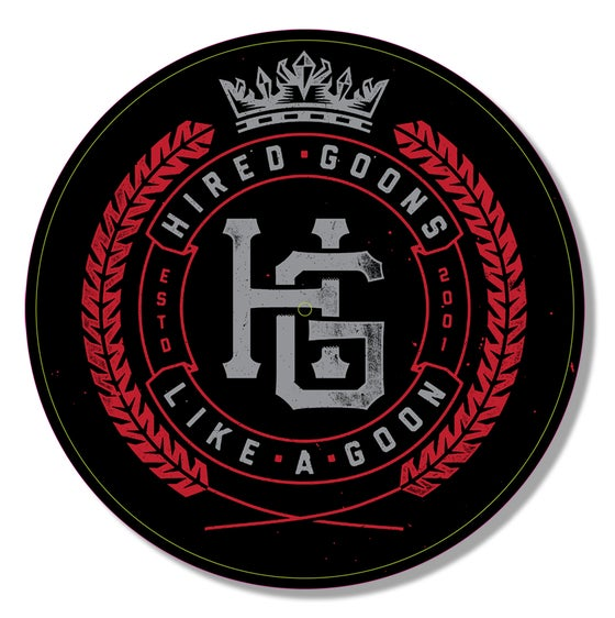 Image of HG Vinyl Slipmat