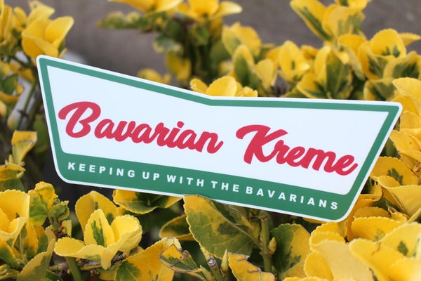Image of Bavarian Kreme Sticker