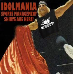 Image of IDOLMANIA SPORTS MANAGEMENT TEE SHIRT PLUS FREE PHOTO!