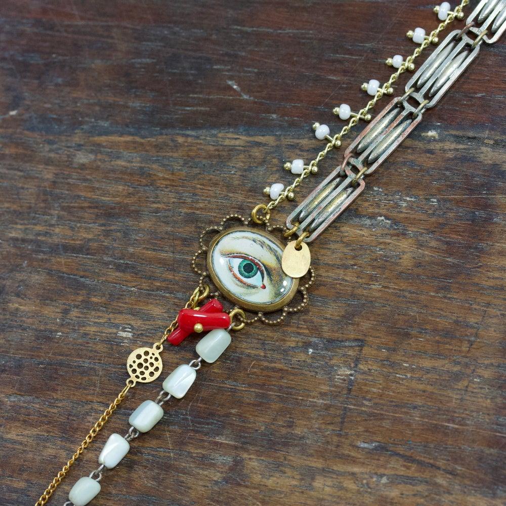 Image of Eye see you - Bracelet Composite
