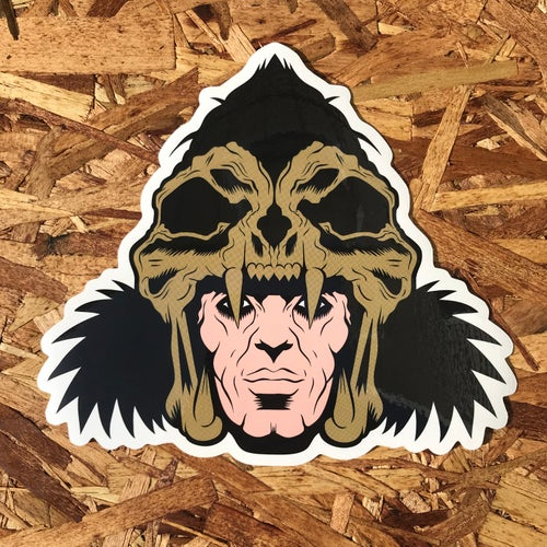 Image of The Kurgan by Brucey (Giant Sticker)