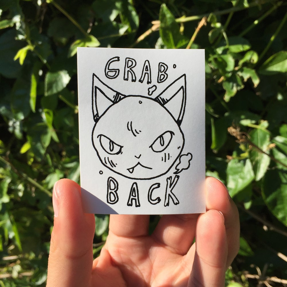 Image of Grab Back Stickers