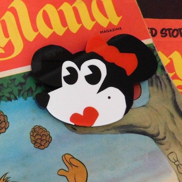 Image of Rhonda Rat Brooch
