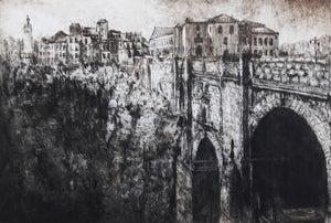 Image of Bridge at Rhonda, Andalusia, Spain