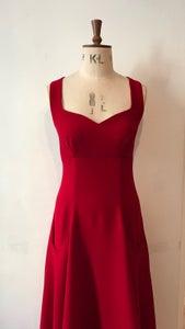 Image of Waterfall sweetheart dress