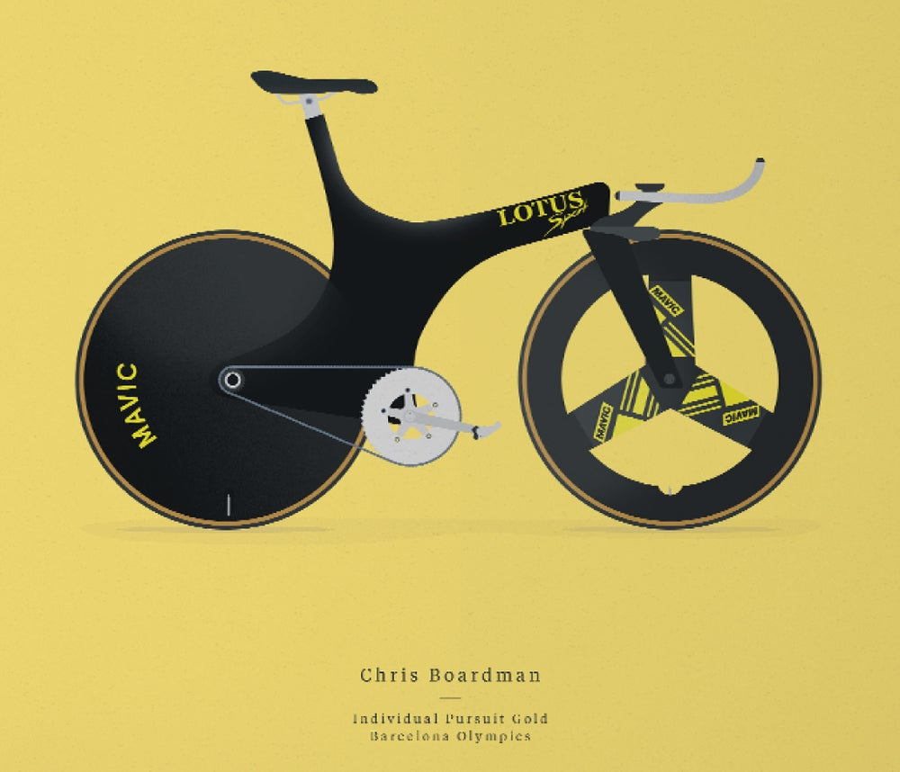 Image of Boardman's Lotus A3 print LIMITED EDITION - by Parallax