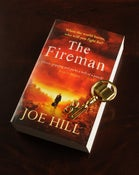 Image of Signed Set: The Fireman paperback (UK edition) & Biblio Key! ONLY 3 LEFT!