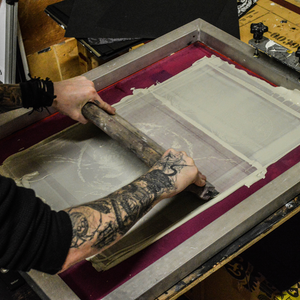 """Image of 'Wither"""" screen print"""